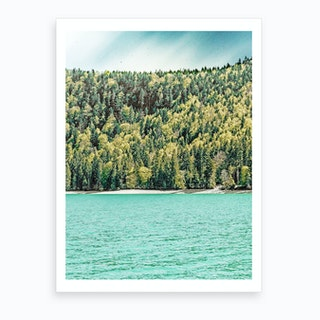 Lake Side Art Print