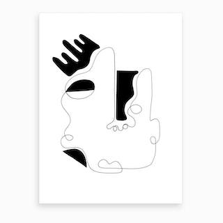 The Genius Of Pain 4 Art Print
