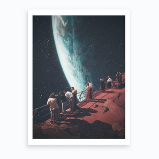 Missing The Ones We Left Behind Art Print