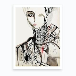 Elizabeth Portrait Art Print