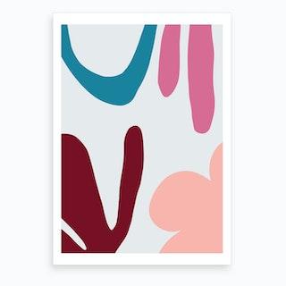 Colour Pops Art Print
