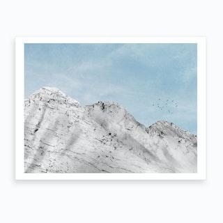 Marble Landscape VI Art Print