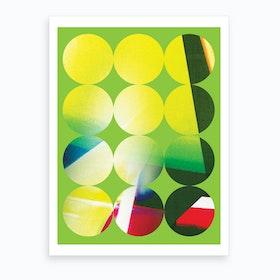 Neon Green Art Print