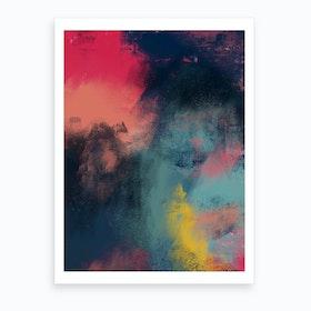 Oil Bright Iii Art Print