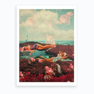 Those Pink Afternoons Art Print
