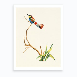 Japanese Bird Art Print