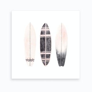Surfboards2 Art Print