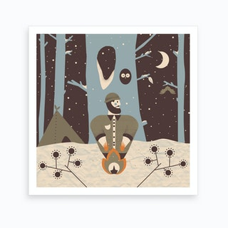 Woodland 3 Art Print