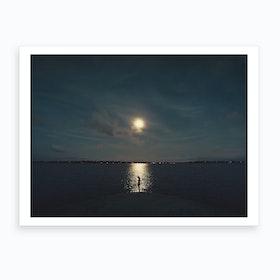 Moon Amour Art Print