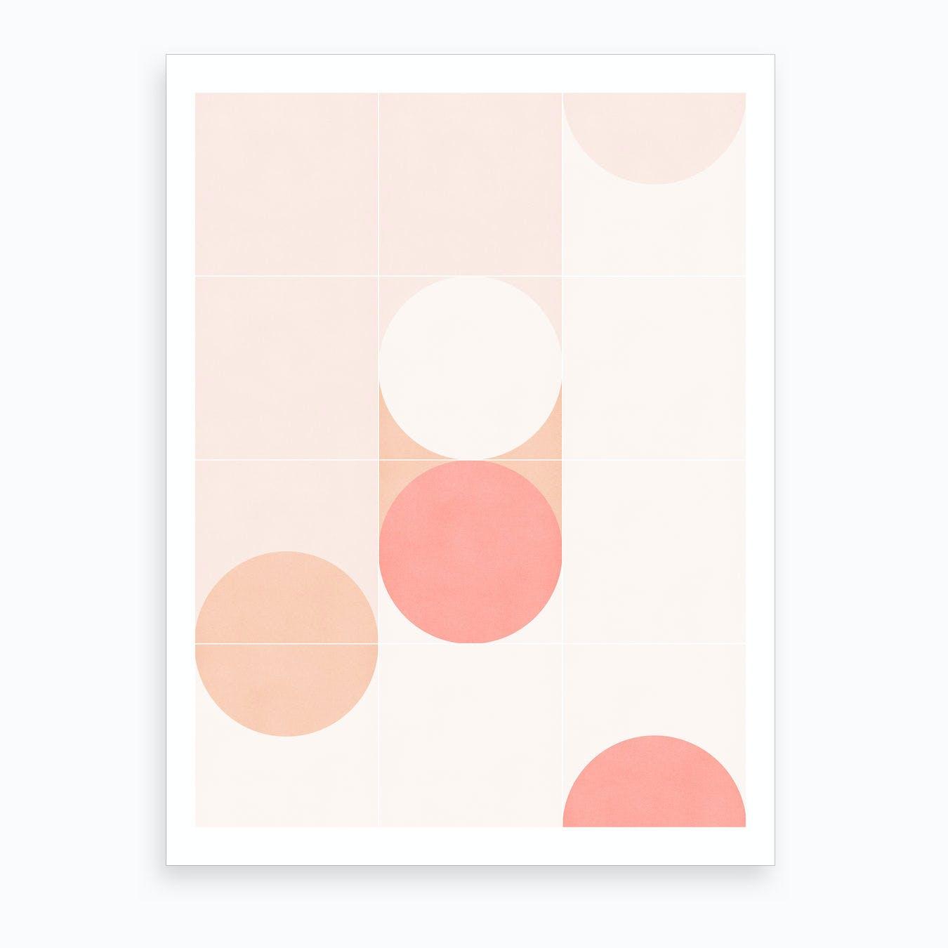 Retro Tiles 07 Art Print