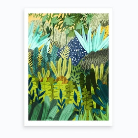 Wild Jungle Ii Art Print