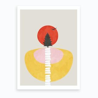 Modern Shapes 8 Art Print
