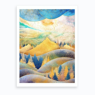 Beauty Of Nature Iii Art Print