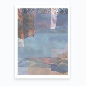 Kvallssol Art Print