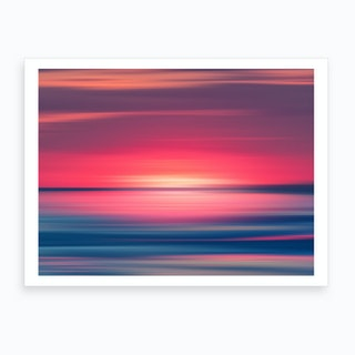 Abstract Sunset I Art Print