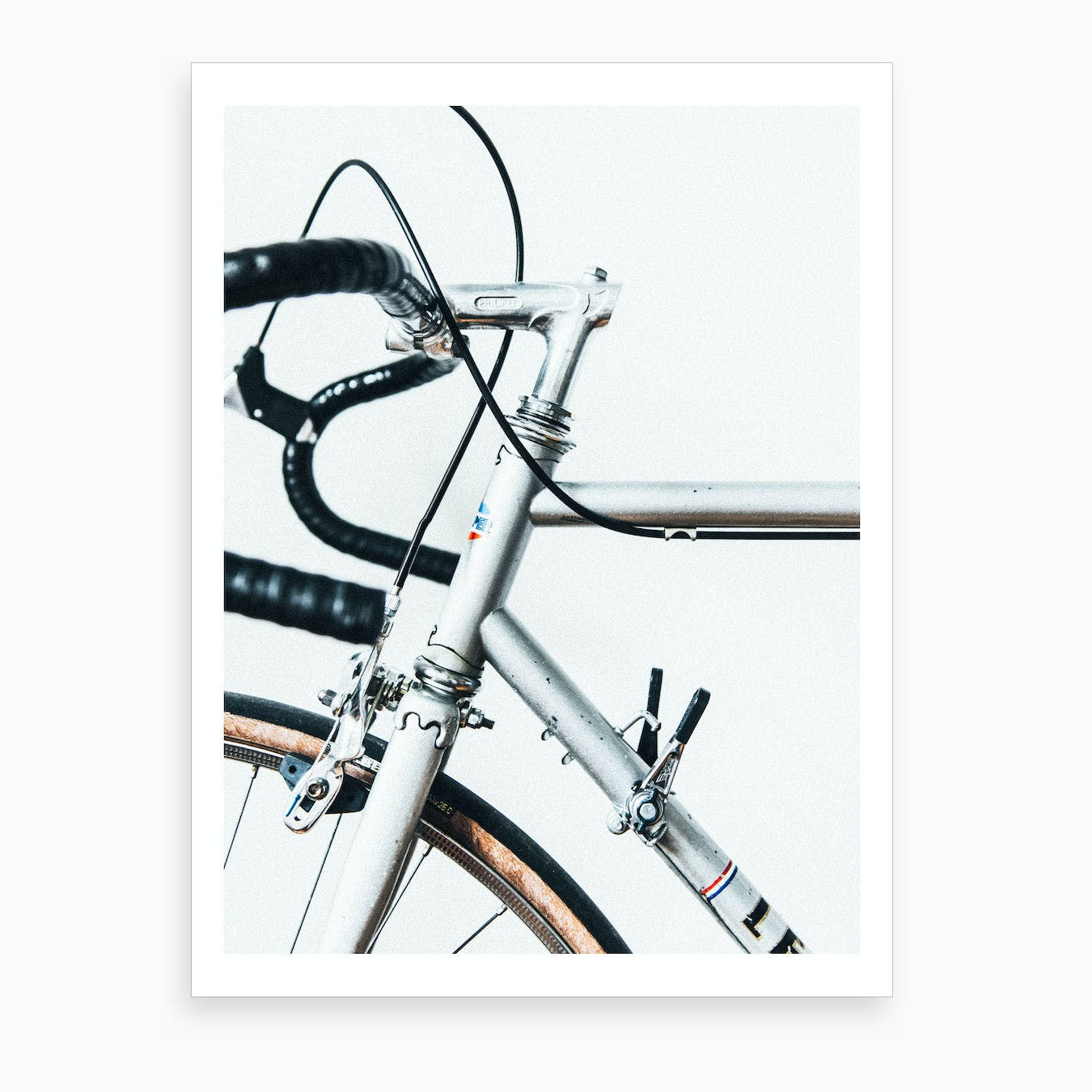 Le Super Bike Art Print