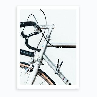 Le Super Bike Art Print