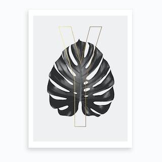 Abc Plant Y Art Print