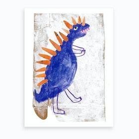 Dinorsaur Art Print