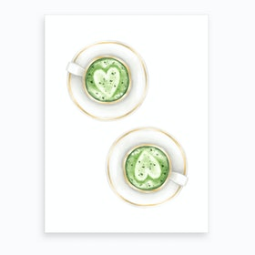 Matcha Love Art Print