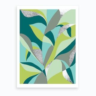 Plant Paradise 2 Art Print