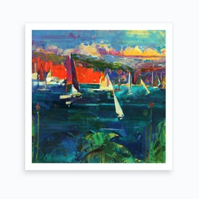 North Head Sydney Art Print