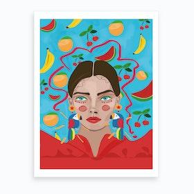 Frutti Art Print