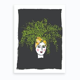 Leafy I Art Print