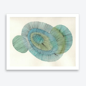 Abstract Line 01 Art Print