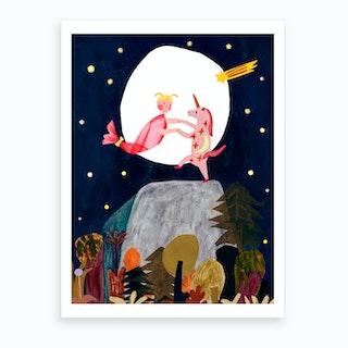 Dance Night Art Print