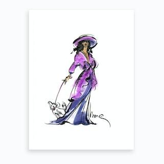 Emelie Art Print