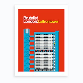 Balfron Tower London Art Print