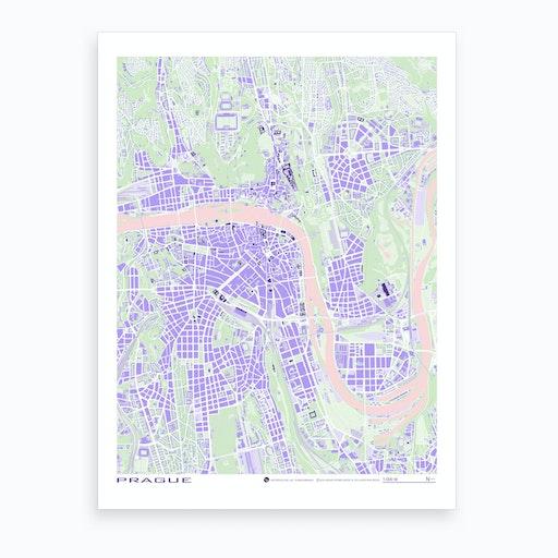 Prague Violet Art Print