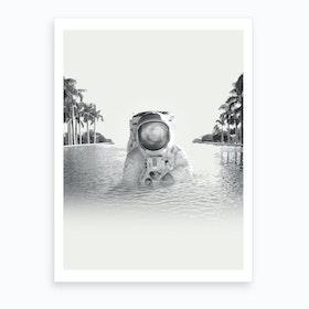 Astronaut Art Print