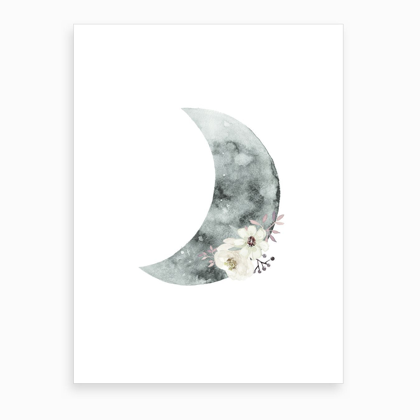 Halfmoon Art Print