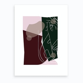 Modern Art I Art Print