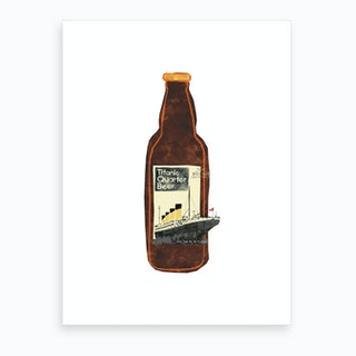 Titanic Quarter Beer  Art Print