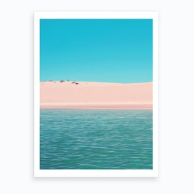 African Sea Art Print
