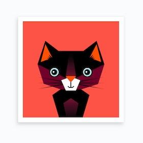 Kids Room Cat Art Print