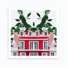 Green House II Art Print