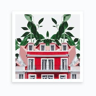 Green House II Art Print