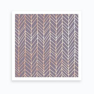 Boho Grid Art Print