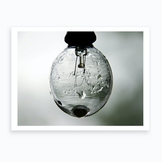 Rain Bulb Art Print