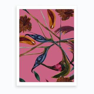Manblomster Art Print