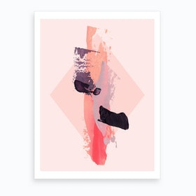 Soft Break II Art Print