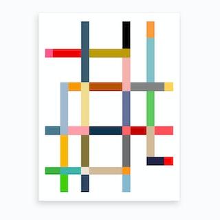 Color Boogie Art Print