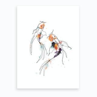 Parallel Art Print