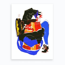 You Can Art Print