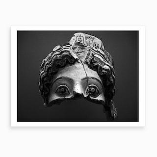 Pompeii Face Art Print