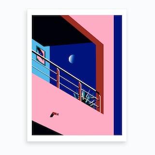 Midnight Dream's I Art Print